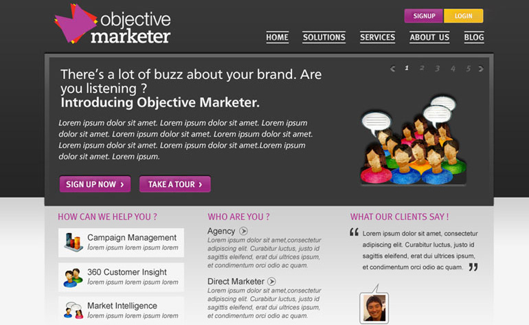 Objective Marketeer